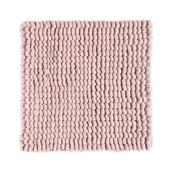 Różowy dywanik łazienkowy Aquanova Luka, 60x60 cm
