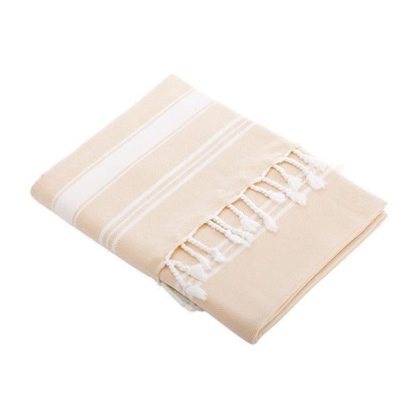 Ręcznik turecki Meryem Hot Coral, 95x170 cm