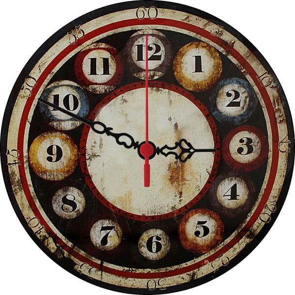 Zegar ścienny Billiards, 30 cm