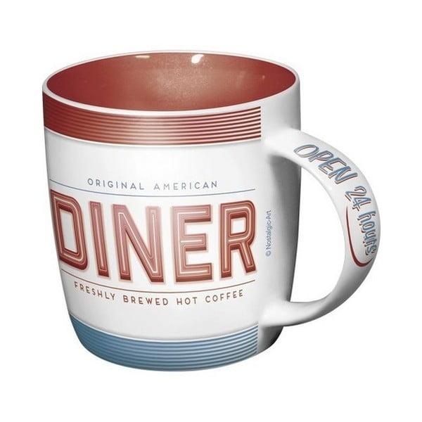 Kubek ceramiczny Diner, 330 ml
