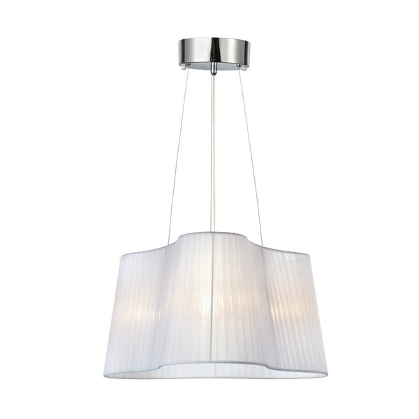 Lampa sufitowa Vinsingso 46 cm, biała