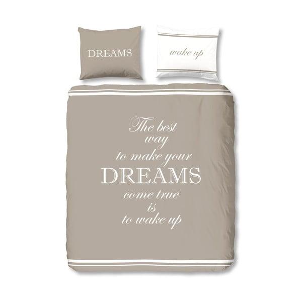 Pościel Dreams Taupe, 200x200 cm
