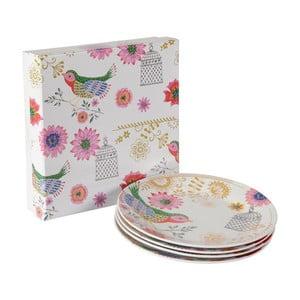 Zestaw 4 porcelanowych talerzy Envol, 20.5 cm