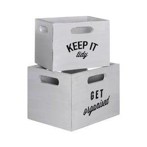 8b6ef5875976f Zestaw 2 pudełek Premier Housewares Tribeca