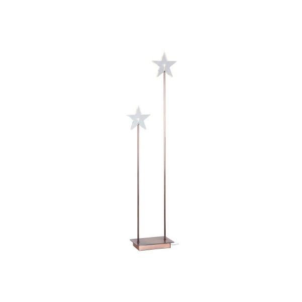 Świecące   gwiazdy ze stojakiem Best Season Duo Star Copper