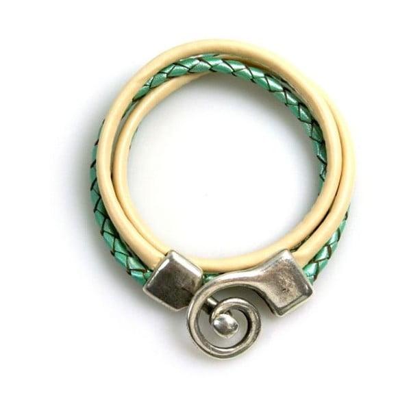 Bransoletka Curl, zielona
