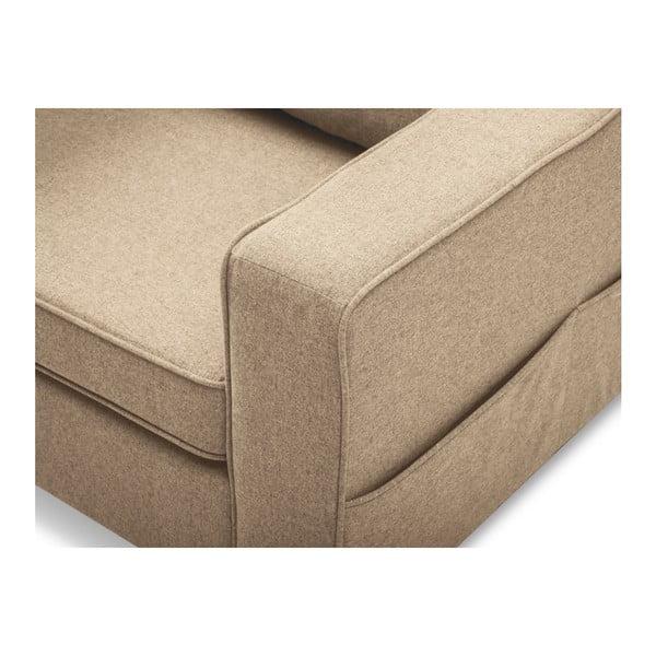 Beżowa sofa 2-osobowa Mazzini Sofas Narcisse