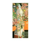 Reprodukcja obrazu Gustava Klimta The Dancer, 70x30 cm
