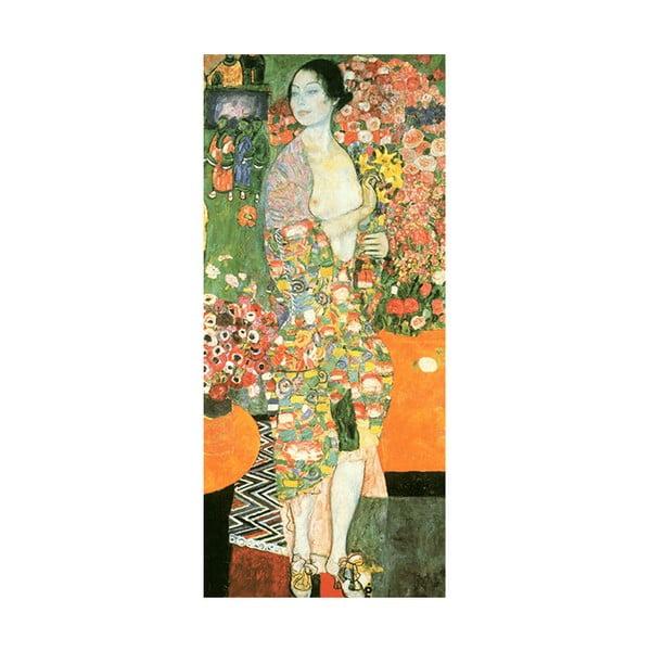 Reprodukcja obrazu Gustava Klimta – The Dancer, 70x30 cm