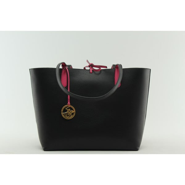 Torebka Beverly Hills Polo Club 09 - Black/Fuchsia