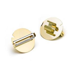 Obieraczka w formie pierścienia w kolorze złota e-my