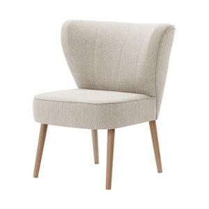 Kremowy fotel My Pop Design Adami