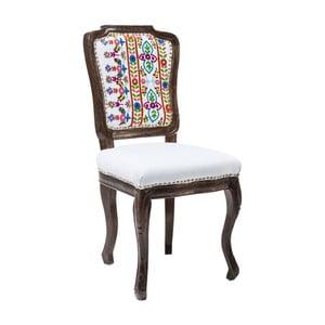Krzesło do jadalni z konstrukcją z drewna mangowca Kare Design Lotta