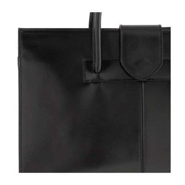 Czarna torebka skórzana Ore Diece Bari