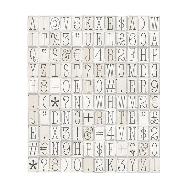 Rolka tapety Pismo, 53x1005 cm