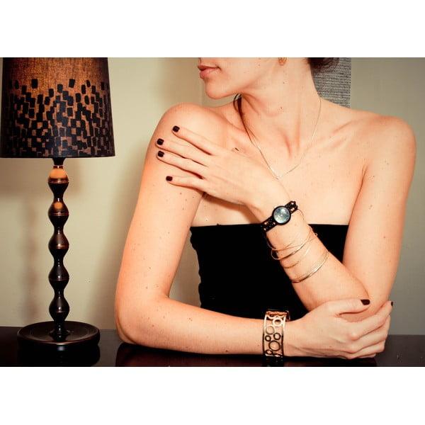 Zegarek z koralikami Classic, Black Russian