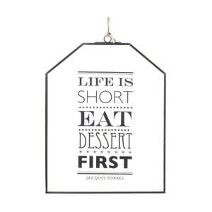 Dekoracja zawieszana Life is Short