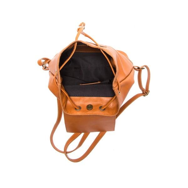 Brązowy skórzany plecak Sofia Cardoni Fredo