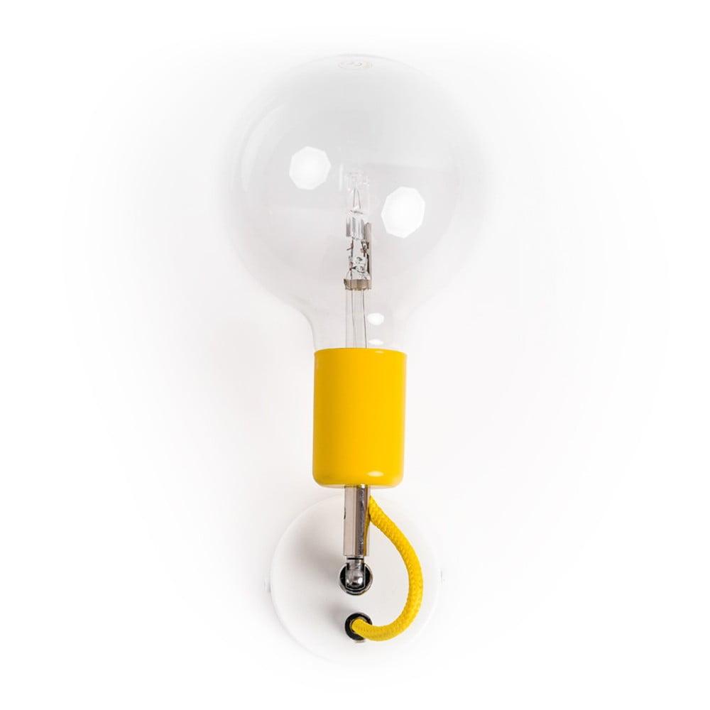 Kinkiet Kolorowe Kable Loft Metal Compact Spanish Lemon   Bonami