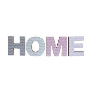 Zestaw 4 ozdobnych literek Home