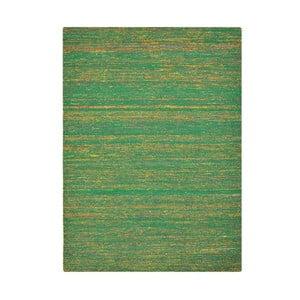 Dywan ręcznie tkany Kilim Sari Silk Green, 120x180 cm