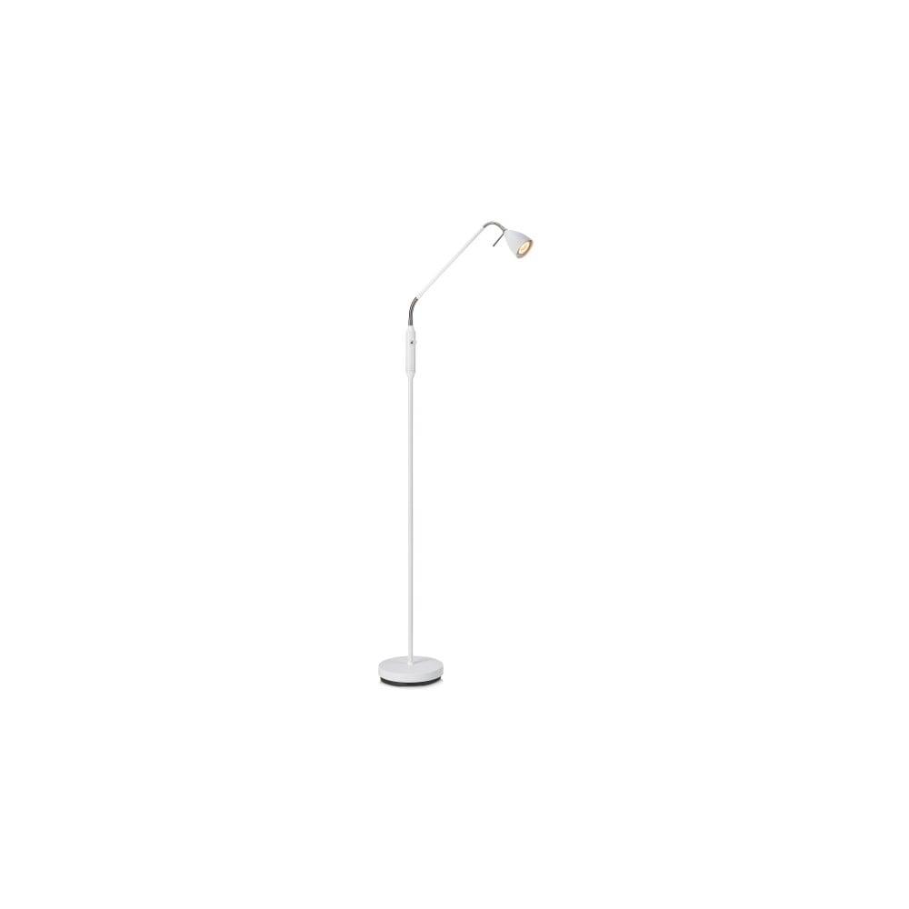 Biała lampa stojąca Markslöjd Persson, wys. 1,5 m