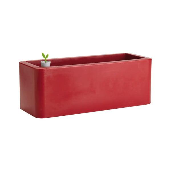 Doniczka Calypso Plus, czerwona
