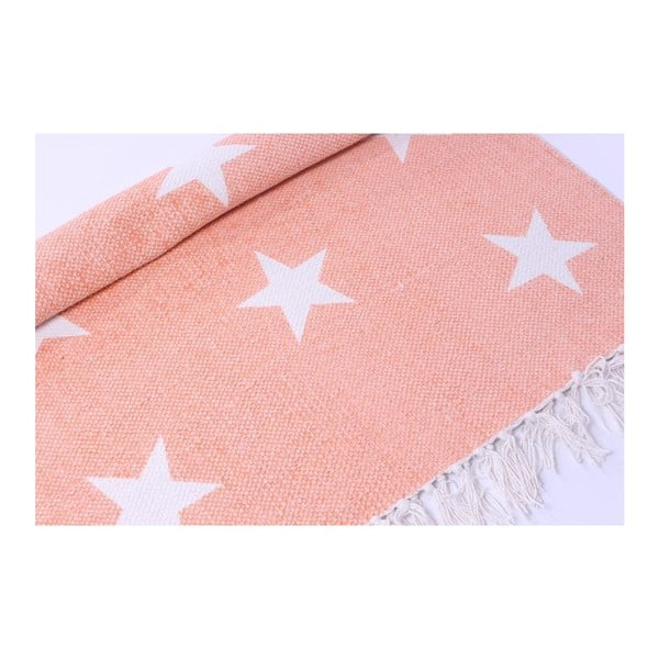 Dywan La Finesse Stars Pink, 70x200 cm