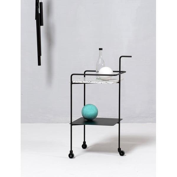 Stolik do serwowania Trolley Confetti Black