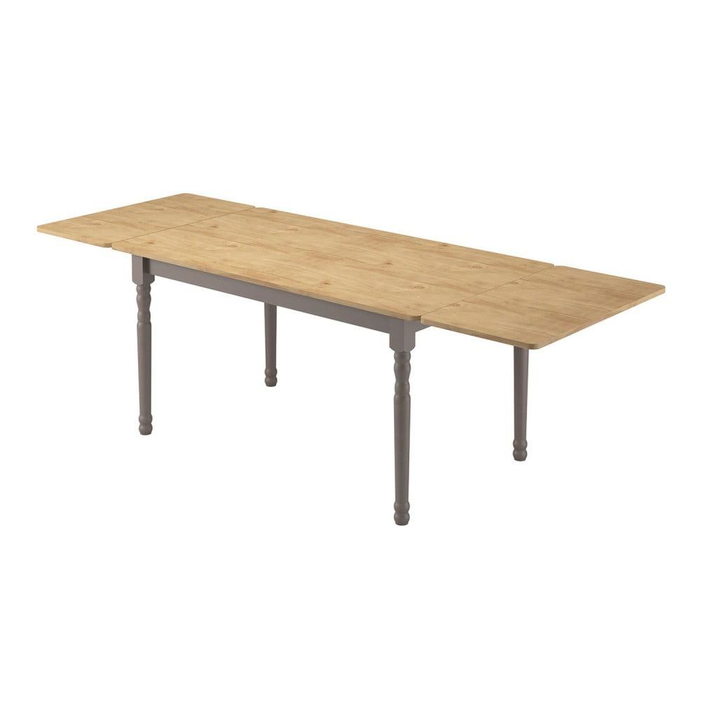 Dodatkowy blat do stołu z litego drewna sosnowego Marckeric Iryna