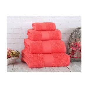 Koralowy ręcznik Irya Home Coresoft, 30x50 cm