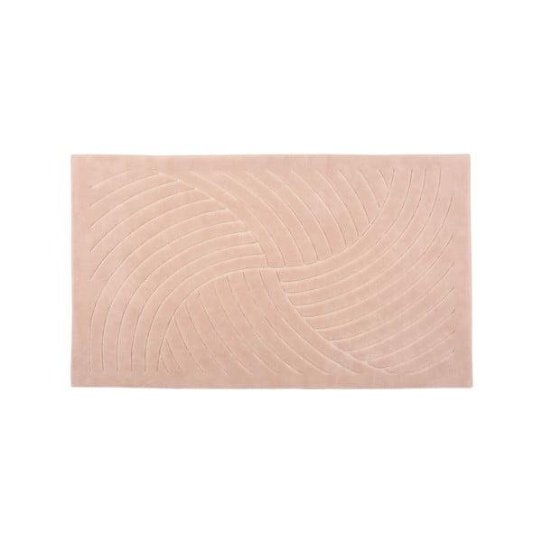 Dywan Waves 120x180 cm, różowy