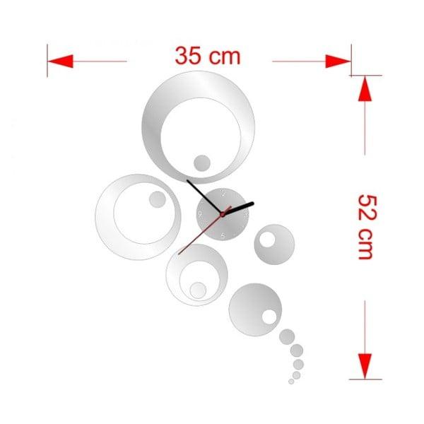 Zegar ścienny Mirror Peafowl