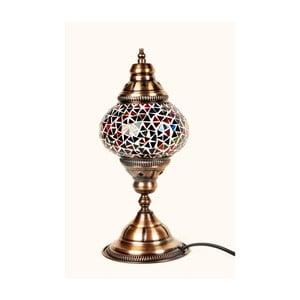 Szklana lampa Homemania Oriental, ⌀13cm