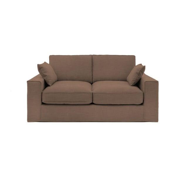 Brązowa sofa trzyosobowa Vivonita Jane