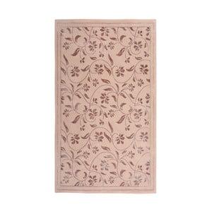 Różowy dywan Floorist Florist, 140x200 cm