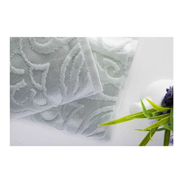 Zestaw 2 ręczników Kumsal Water Green, 50x90 cm