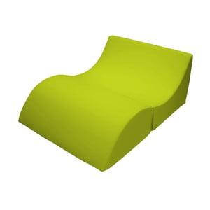 Zielony szezlong rozkładany 13Casa Cleo