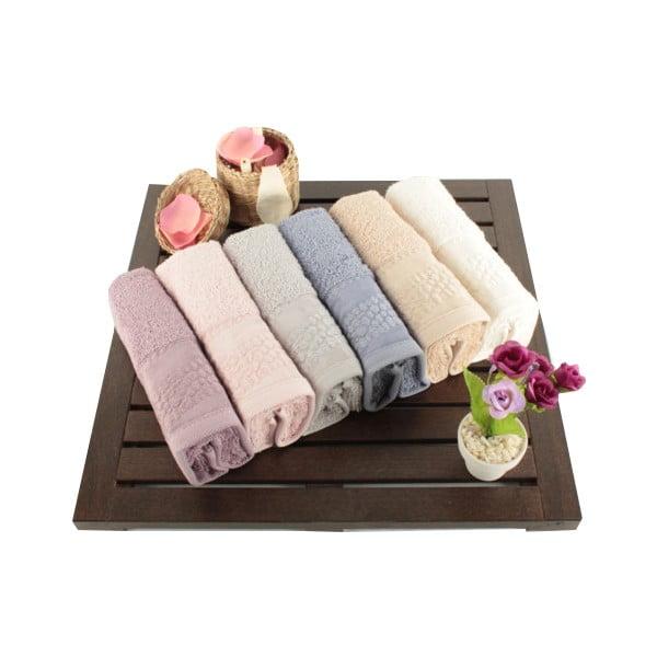 Zestaw 6 ręczników Balon, 30x50 cm