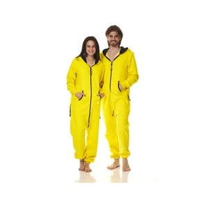 Kombinezon domowy Streetfly Yellow, M