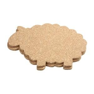 Zestaw 2 podkładek korkowych T&G Woodware Cork Sheep