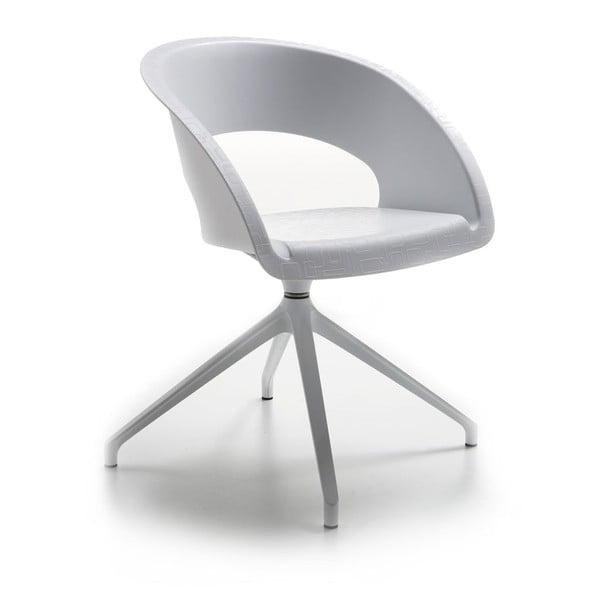 Białe krzesło biurowe Que Five Zago