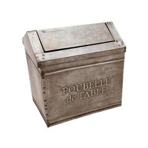 Metalowy pojemnik Antic Line Poubelle