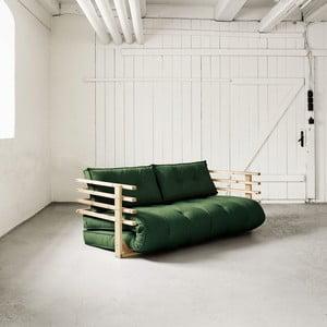 Sofa rozkładana dwuosobowa Karup Funk Natural/Botella
