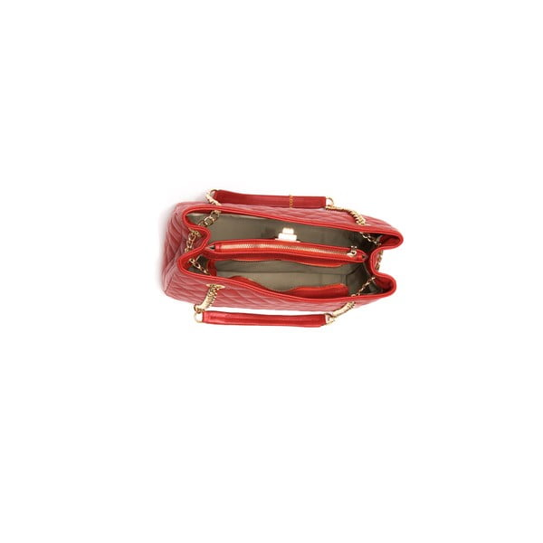 Skórzana torebka  Isabella Rhea 2055 Rosso