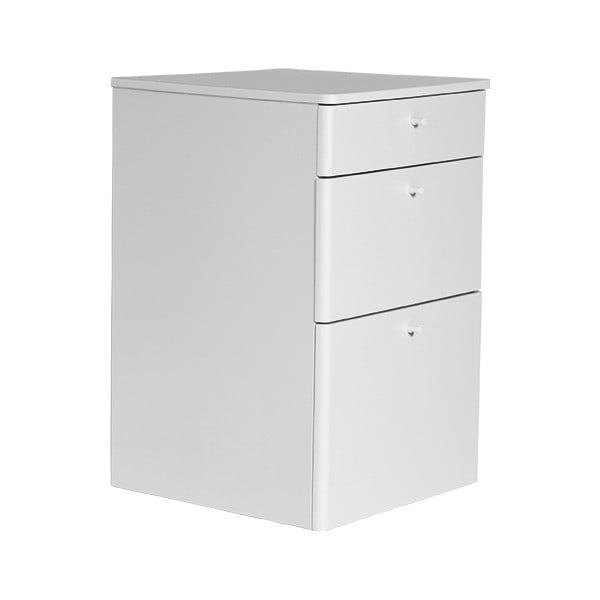 Biała szafka Niles, 59x40 cm