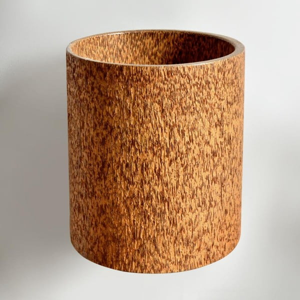 Palmowy wazon Wood, Caspo, 25 cm