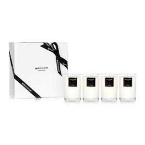 Zestaw podarunkowy 4 świeczek o zapachu jaśminu Bahoma London, 35 godzin