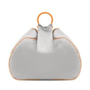 Worek do siedzenia Vivonia Outdoor Silver/Acid Orange