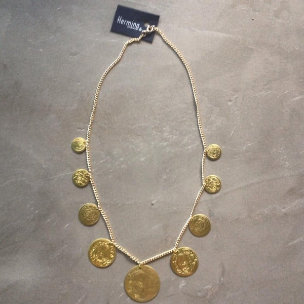 Naszyjnik Sahara Single Gold